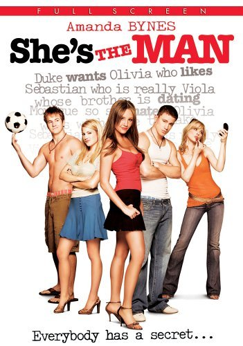 shes the man  poster