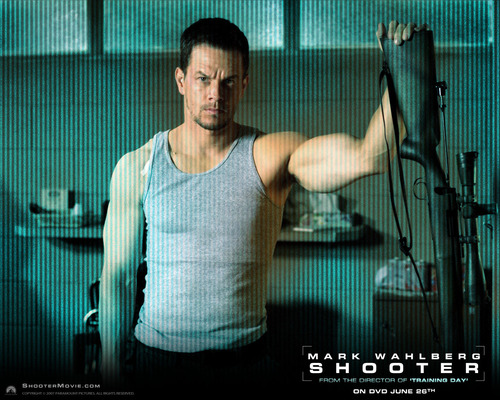 Mark Wahlberg wolpeyper titled shooter