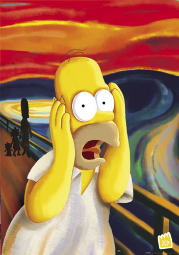 simpson scream