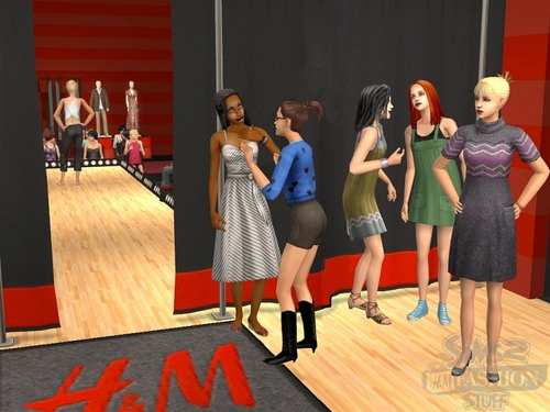 sims 2 fashion stuff