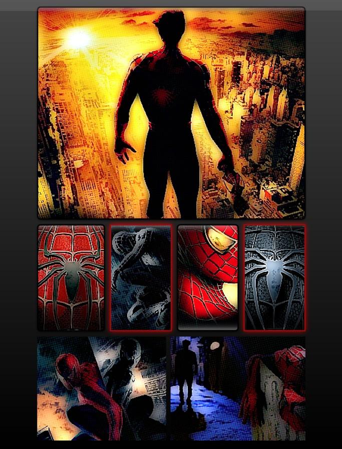 comic spider: