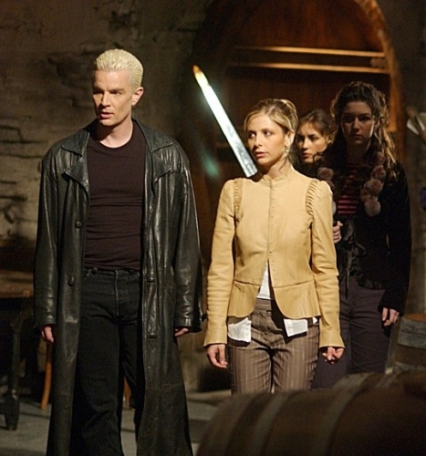 spike & buffy(season 7)