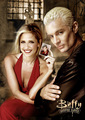 spike & buffy - spike fan art