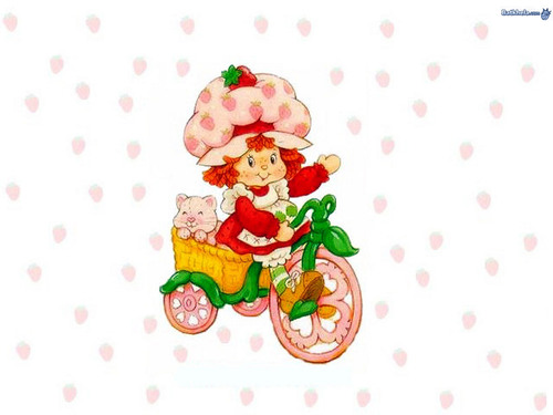 Childhood Memories wallpaper titled strawberry shortcake