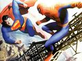 superman vs. spider-man - spider-man fan art