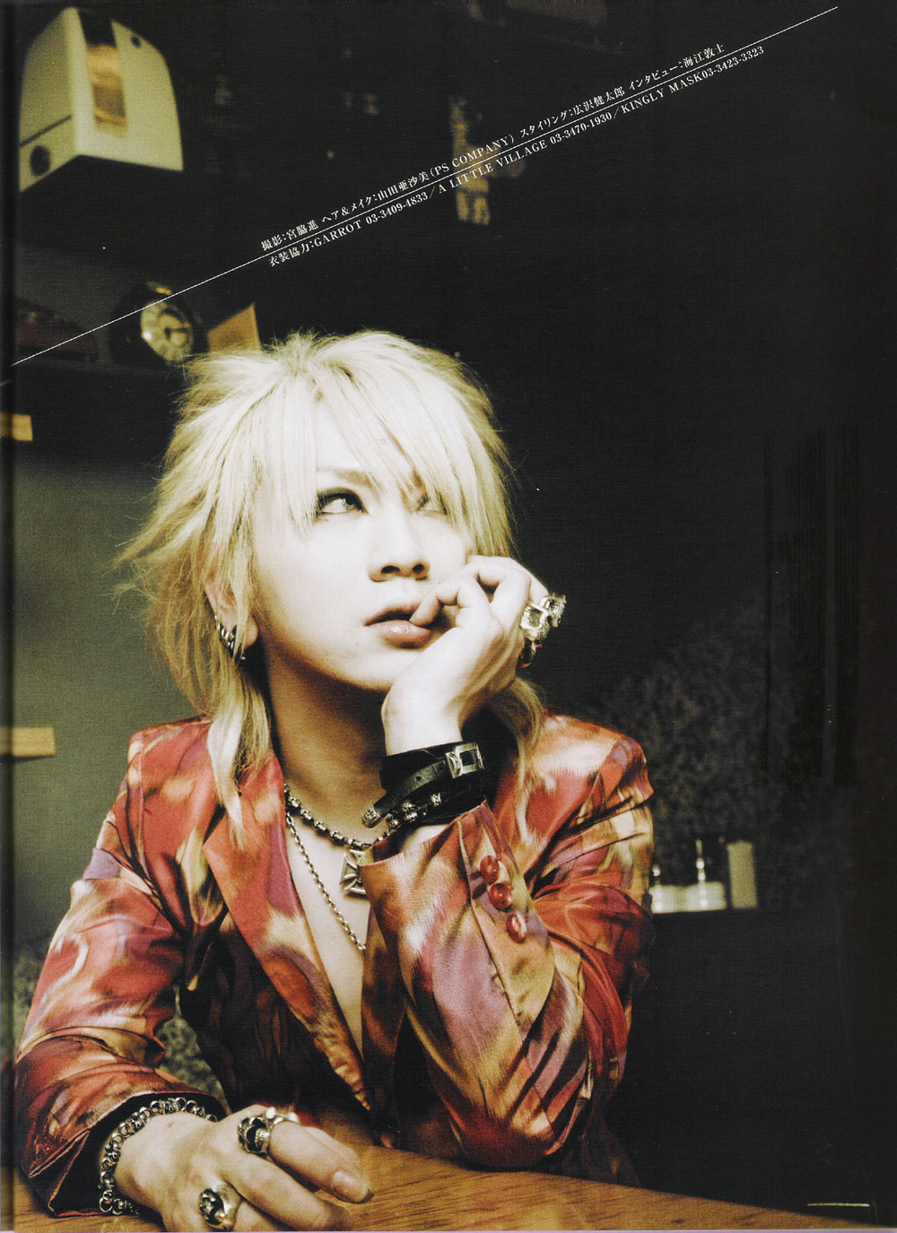 the GazettE: Ruki