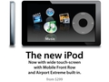 the new ipod (touch screen) - ipod photo