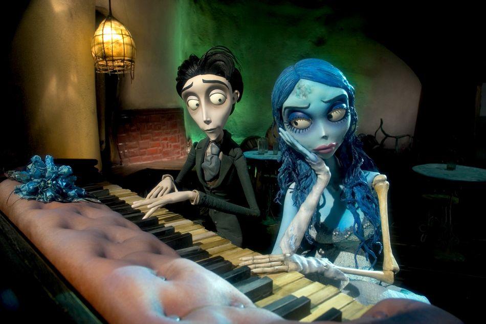 the piano scene Corpse Bride Photo 682965 Fanpop