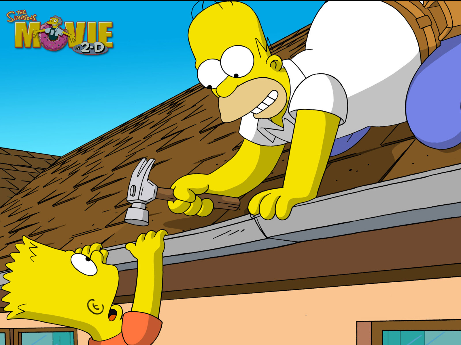 the simpsons movie the simpsons movie wallpaper 200512