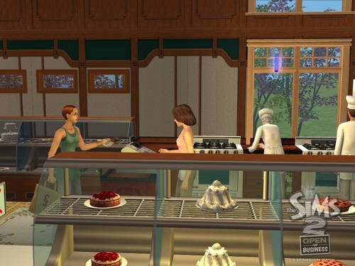 the sims 2 open for business - the-sims-2 Wallpaper