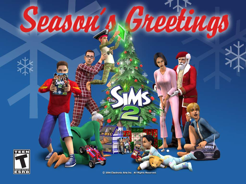 the sims 2 season's greetings
