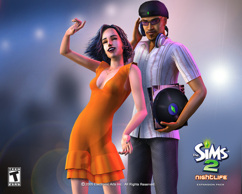 the sims2 nightlife