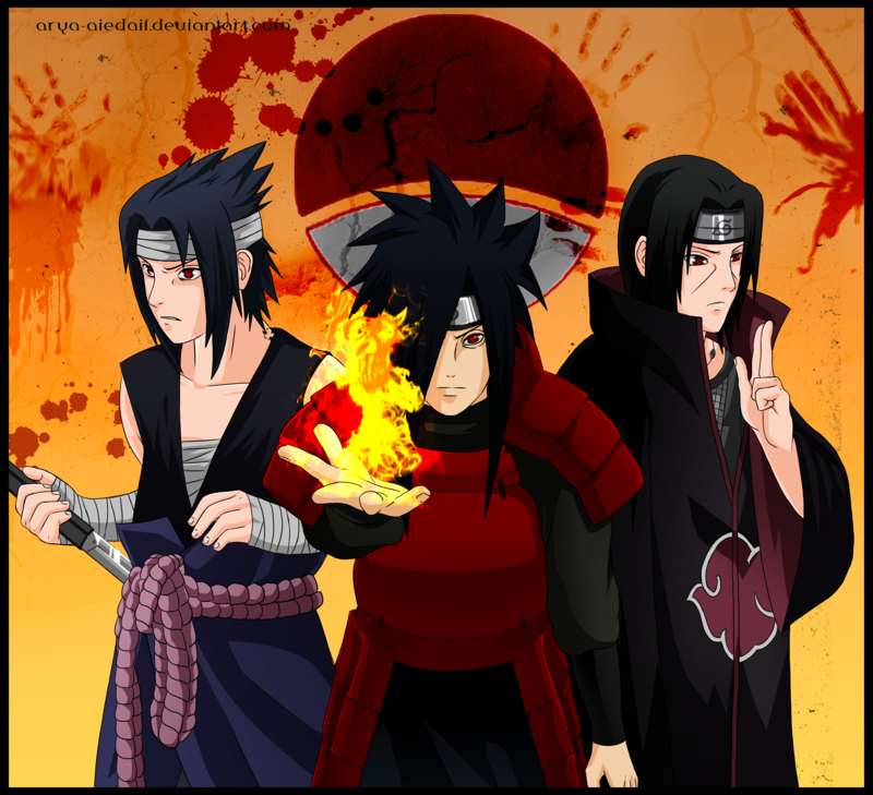 the uchiha survivors - naruto-shippuuden photo