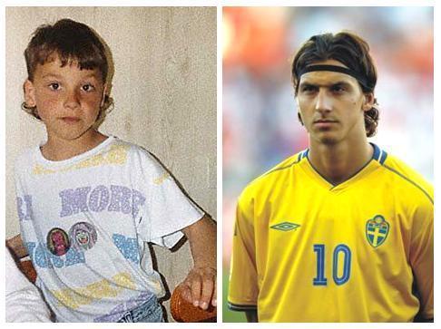 Zlatan Ibrahimovic karatasi la kupamba ukuta titled the young zlatan