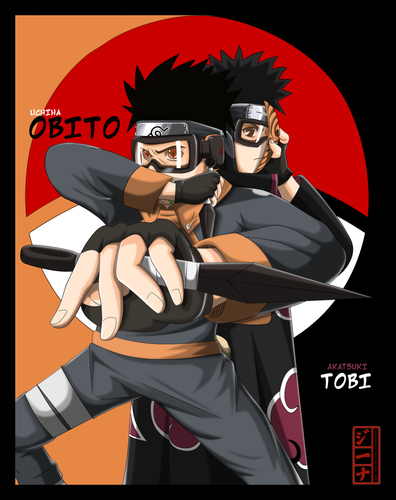 naruto shippuden wallpaper entitled tobi aka. obito