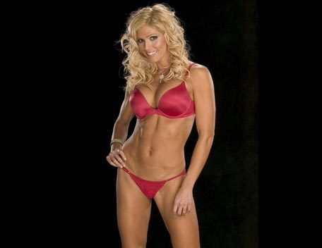 Torrie Wilson achtergrond entitled torrie Wilson - red Black