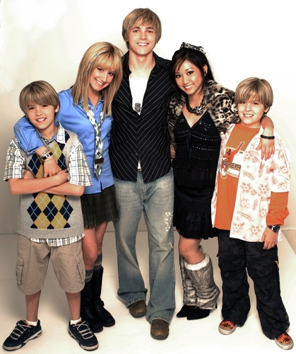 The Suite Life of Zack & Cody wallpaper titled tsl cast with jesse mccartney