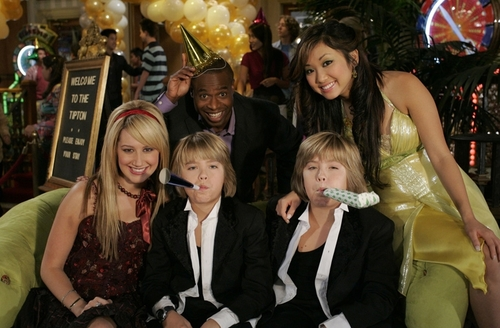 The Suite Life of Zack & Cody wallpaper entitled tsl