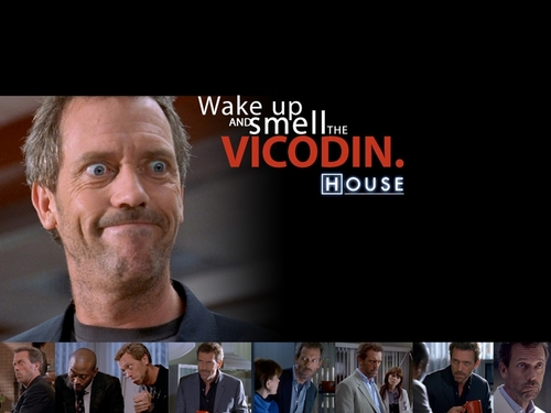 House M.D. wallpaper entitled vicodin