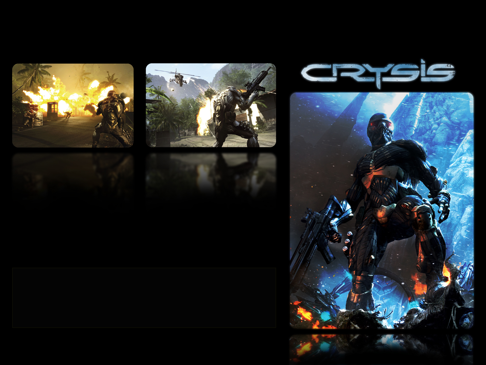 wallpapers - Crysis 1600x1200 1024x768 800x600