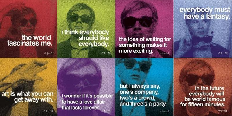 warhol quotes - Andy Warhol Photo (71643) - Fanpop
