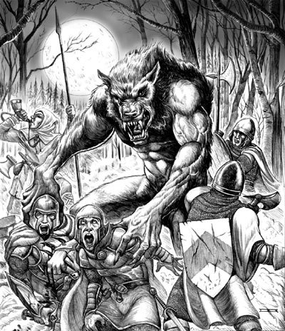 manusia serigala wallpaper titled werewolf