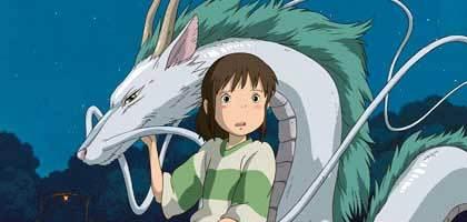 white dragon & Chihiro