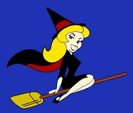 witch logo - Bewitched Photo (489328) - Fanpop