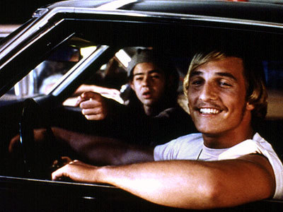 Dazed and Confused Hintergrund called wooderson & Slater