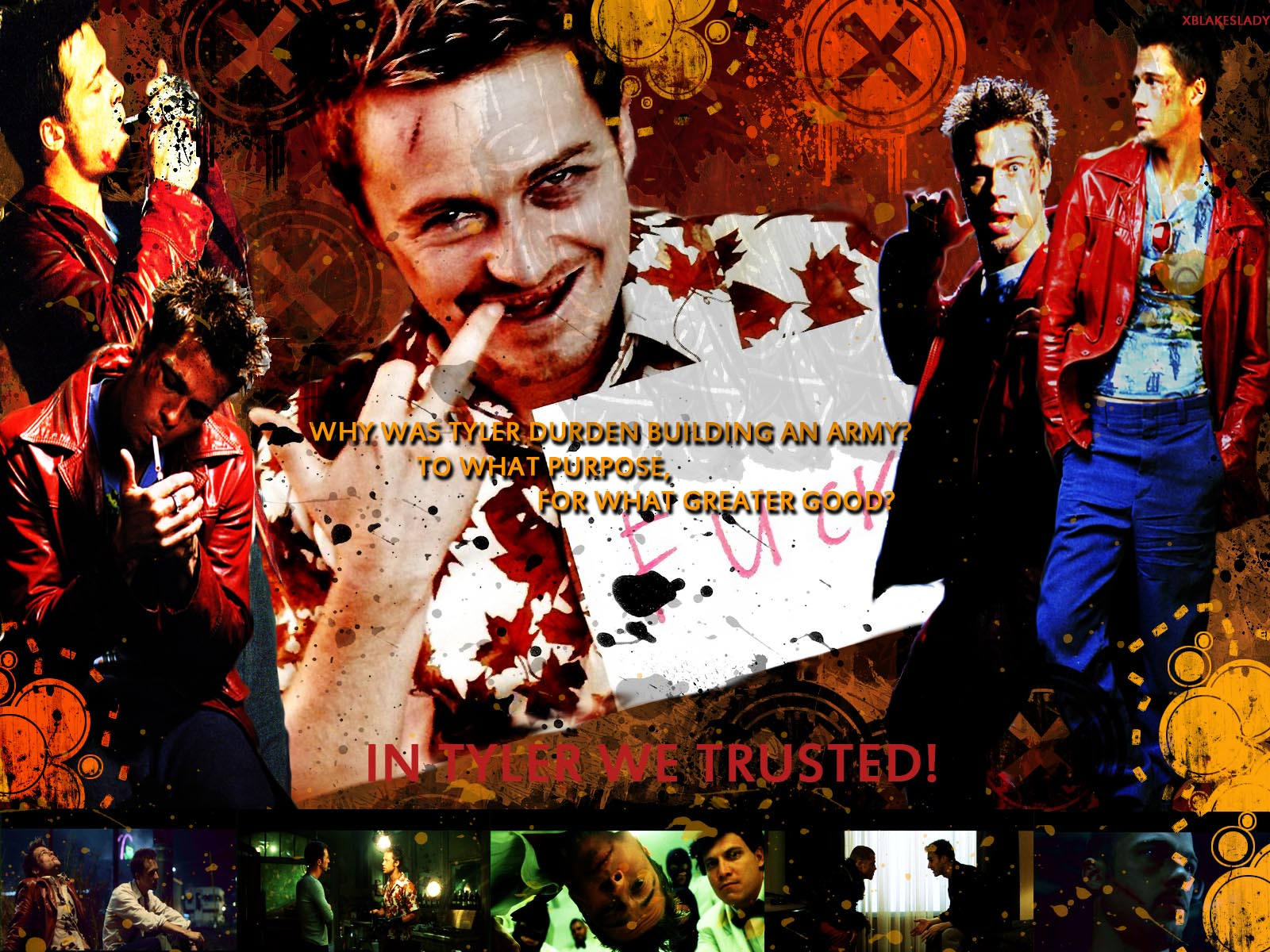 xblakeslady - Fight Club Wallpaper (519160) - Fanpop