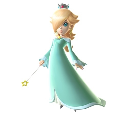 would you like to see rosalina as a racer in mario kart