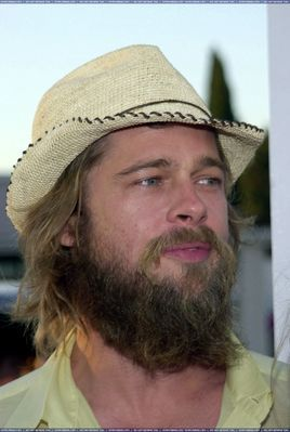 Have a question; Why did Brad let his beard grow out in ...