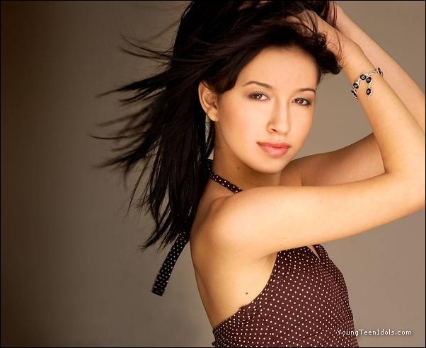 yes ..the 1 ... the only...Christian Serratos,is now ...