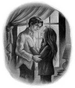 This is the drawing on page 111 of Deathly Hallows.