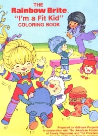 I'm A Fit Kid Coloring Book