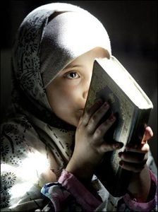 Child recites from the Koran