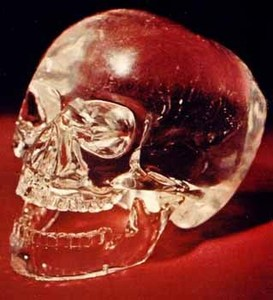 Crystal Skulls... where are they from? (photo courtesy of iwantyourskull.com)