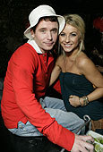 Kevin Connolly and Julianne Hough Halloween 2007