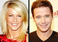 Julianne Hough and Kevin Connolly casually dated in the Fall 2007