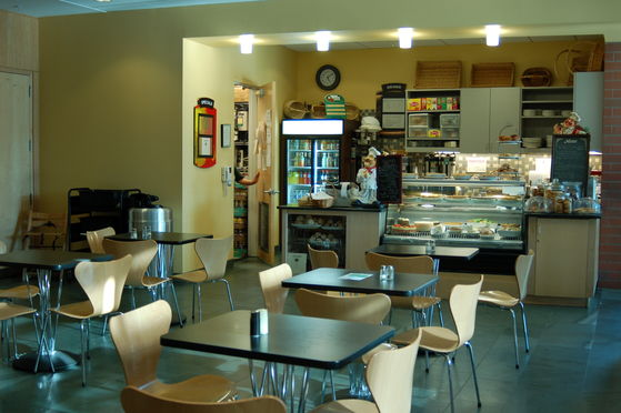 The Princeton Library cafe