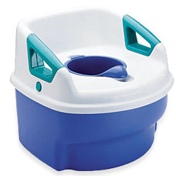 The actual kind of potty シート, 座席 we use.