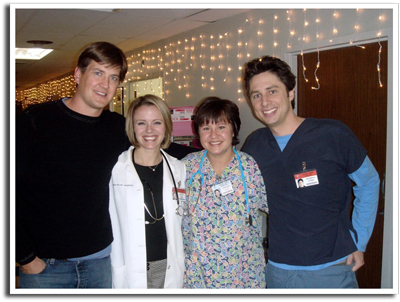 Bill Lawrence, Zach Braff, and Guests