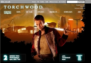 BBC Tourchwood homepage