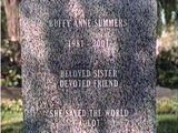 Buffy Anne Summers  ~  Beloved Sister, Devoted Friend  ~  She Saved the World A Lot