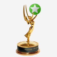 The coveted Fanpoppy Award