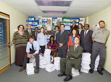 The cast of The Office season 1 &2