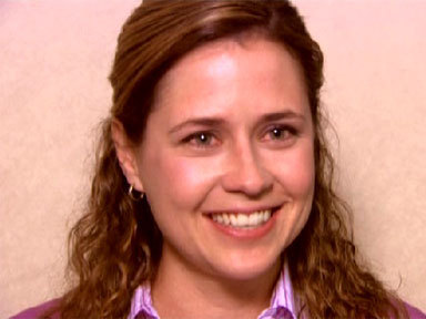 All it took to make her smile was for Jim to ask her out