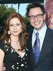Jenna Fischer and James Gunn