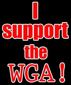 I support WGA