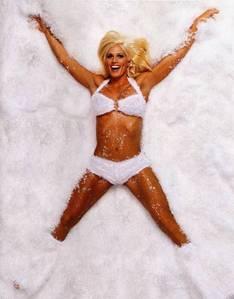 Torrie Wilson the SnowBunny
